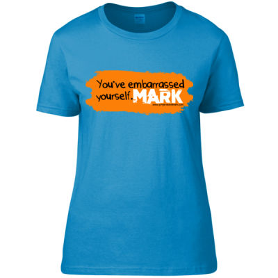 Gingerbeard Mark - Embarrassed - Women's Fitted T-Shirt Thumbnail