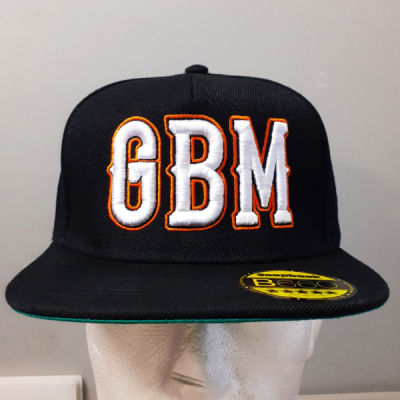 Ginger Beard Mark - 3D Puffy Embroidery - Snapback Thumbnail